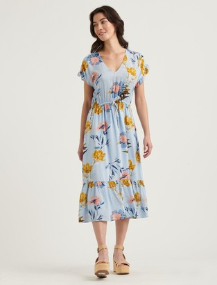 Lucky Brand Floral Printed Silvy Dress
