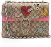 Gucci Dionysus GG Supreme embellished shoulder bag