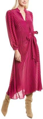 Tanya Taylor Marcela Silk Maxi Dress