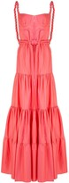 Johanna Ortiz flared tie-waist maxi dress