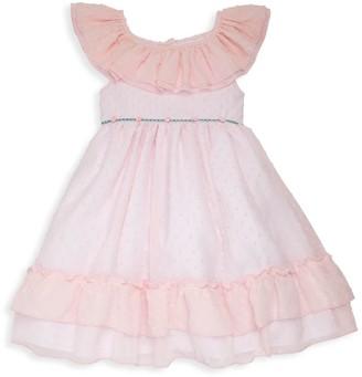 Laura Ashley Little Girl's Rosebud Ruffle Party Dress
