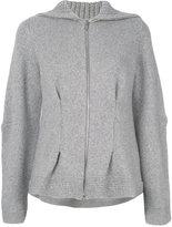 Alexander McQueen cashmere hooded sweater - women - Cashmere - XXS