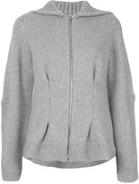 Alexander McQueen cashmere hooded sweater
