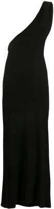 Ann Demeulemeester One-Shoulder Maxi Dress