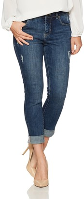 Jag Jeans Women's Petite Carter Girlfriend Jean