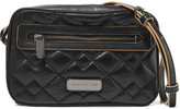 Marc by Marc Jacobs Sally quilted textured-leather shoulder bag