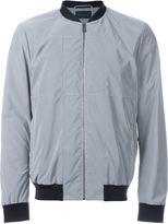 Christopher Kane reflective grid bomber jacket - men - Silk/Polyamide/Spandex/Elastane/glass - 50