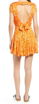 Free People It Takes Two Crossover Woven Skater Dress