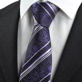 panda supermarket Paisley Striped Men' Tie Necktie Luxury