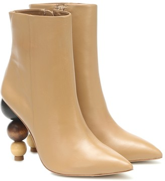 Cult Gaia Venus leather ankle boots