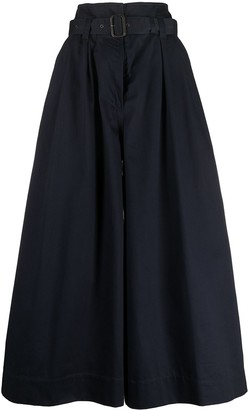 Aspesi High-Waisted Wide-Leg Trousers