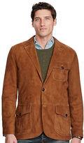 Polo Ralph Lauren Suede Three-Button Jacket