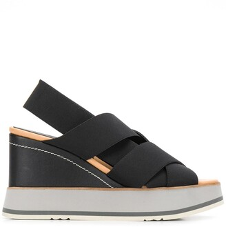Paloma Barceló Salinas 105mm wedge sandals