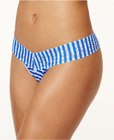 Hanky Panky Printed Low-Rise Lace Thong