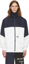 Perks And Mini White and Navy psy-aktion Jacket