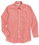 Nordstrom Boy's Smartcare(TM) Gingham Dress Shirt