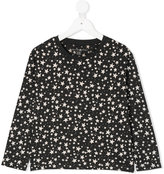 Stella McCartney stars allover longsleeved T-shirt
