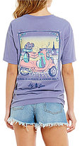Lily Grace Paris Is Always A Good Idea Short-Sleeve Graphic Tee