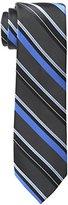 Haggar Men's Tall Performance Extra Long Stripe Necktie