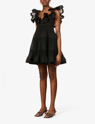 Zimmermann Love ruffle-trimmed woven mini dress