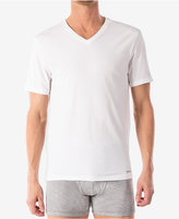 Michael Kors men's ultimate cotton stretch v-neck Undershirt, 2-pack