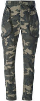 Faith Connexion camouflage trousers - women - Cotton - M