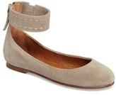Frye Women's Carson Ankle Strap Ballet Flat