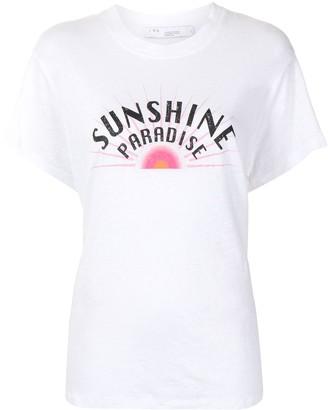 IRO graphic-print short-sleeve T-shirt