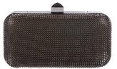 Halston Chain-Mail Clutch