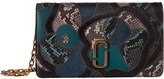 Marc Jacobs J Marc Snake Patchwork Wallet On Chain Wallet Handbags