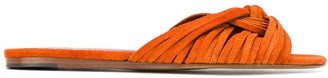 Michel Vivien Tie Detail Sandals