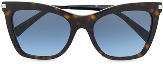 Valentino Eyewear Cat-Eye Frame Sunglasses