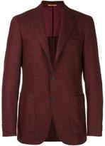 Canali 'Key' blazer - men - Polyamide/Cupro/Wool - 50