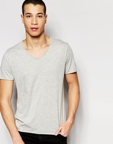 Selected Raw Neck T-Shirt