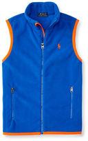 Ralph Lauren Boys 2-7 Full-Zip Vest