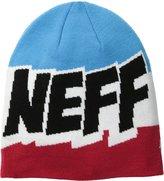 Neff Men's Cartoon Beanie, Red/White/Blue