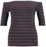 Whistles STRIPE BARDOT Print Tshirt multicolour