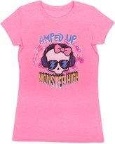 """Monster High Girls """"Amped Up"""" Short Sleeve T-Shirt"""