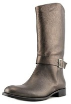 Martin Clay Greta Round Toe Leather Knee High Boot.