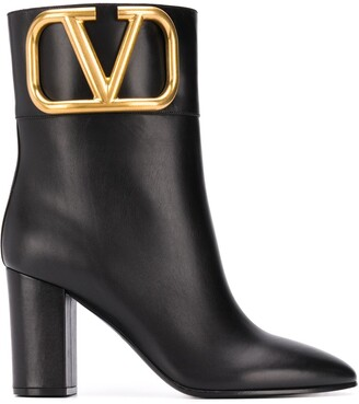 Valentino VLOGO pointed boots