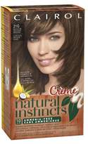 Clairol Natural Instincts Rich Color Non-Permanent Haircolor Medium Golden Brown 21G