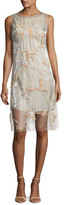 Maiyet Sleeveless Embroidered Chiffon Dress