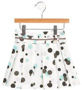 Tartine et Chocolat Girls' Pleated Polka Dot Dress w/ Tags