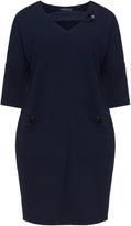 Apart Plus Size Cut-out pocket dress