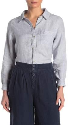 Faherty BRAND Del Mar Striped Linen Shirt