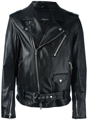 3.1 Phillip Lim Moto Jacket W/ Multi Zip