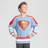 Superman Boys' Sweatshirt - Heathered Deep Navy