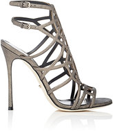 Sergio Rossi Women's Puzzle Sandals-GREY