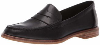 Sperry Womens Seaport Penny Nubuck Loafer