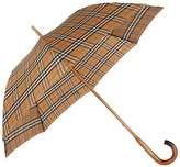 Burberry Heritage Check Walking Umbrella